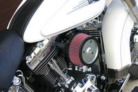 Zipper's Performance Products Black HiFlow Air Cleaner