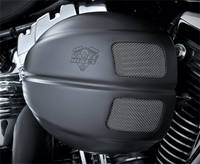 Vance & Hines VO2 Intake Kit Black Drak Cover