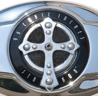Chrome Dome Spanish Cross Air Cleaner Insert