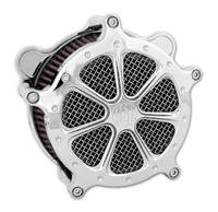 Roland Sands Design Speed 7 Venturi Chrome Air Cleaner