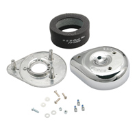 S&S Cycle Super B Teardrop Air Cleaner Kit Chrome