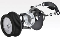 Vance & Hines Naked VO2 Air Cleaner Kit