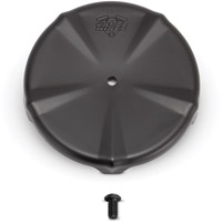 Vance & Hines VO2 Skullcap Crown Air Cleaner Insert Smooth Black