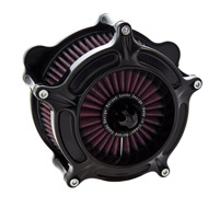 Roland Sands Design Black Anodized Turbine Air Cleaner