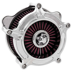 Roland Sands Design Chrome Turbine Air Cleaner