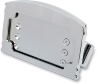 Side Mount License Plate Horizontal Mount