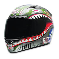 Bell Vortex Flying Tiger Gray Full Face Helmet
