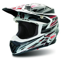 Bell Moto-9 Legacy Red Off-Road Helmet