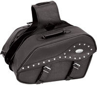 River Road Quantum Studded Windswept Large Saddlebags