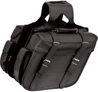 River Road Quantum Classic Slant Large Saddlebags