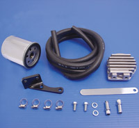 V-Twin Manufacturing Transmission Mount Oil Filter Kit