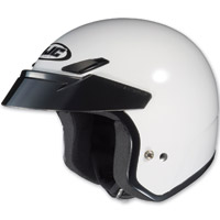HJC CS-5N White Open Face Helmet