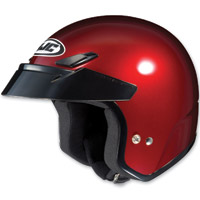 HJC CS-5N Metallic Wine Open Face Helmet