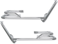 Chrome Buffalo Saddlebag Bars with Guards