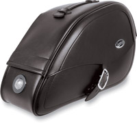 Saddlemen Rigid-Mount Teardrop Drifter Saddlebags with LED Marker Lights