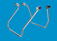 Khrome Werks Chrome Saddlebag Support Bracket