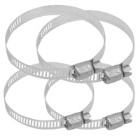 Stainless Steel Worm Clamp 1.25″-2.25″