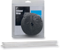 Exhaust Heat Wrap Kit 2″ Black