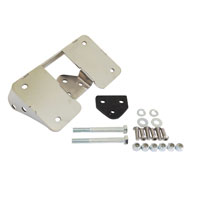 Easy Brackets Turn Signal Relocation Kit For Dyna Glide