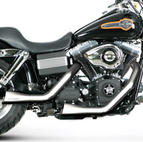 Akrapovic Chrome Open Line 2-into-2 Exhaust System