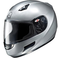 Joe Rocket RKT-Prime Metallic Silver Full Face Helmet