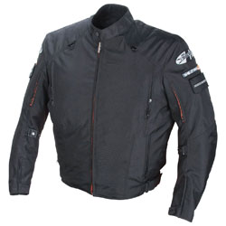 Joe Rocket Black Recon Military Spec Textile Jacket