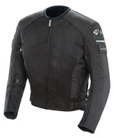 Joe Rocket Black Recon Mesh Military Spec Jacket