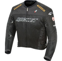 Joe Rocket Black UFO 2.0 Jacket