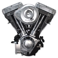 S&S Cycle V124 V Series Complete Wrinkle Black Engine