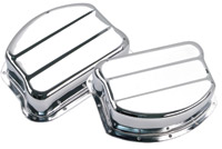 S&S Chrome Pan Covers