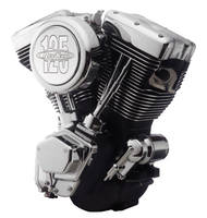 RevTech 125″ Wrinkle Black Engine