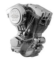 RevTech 125″ Polished Finish Engine
