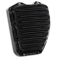 Roland Sands Design Black Anodized Nostalgia Cam Cover for Twin Cam