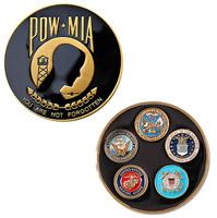 Motordog69 POW-MIA Challenge Coin