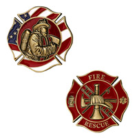 Motordog69 Fire Rescue Challenge Coin