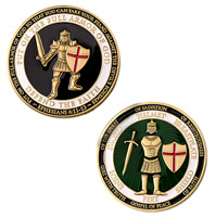 Motordog69 Armor of God Challenge Coin