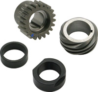 S&S Cycle Blue Pinion Shaft Conversion Package for Big Twin