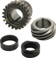 S&S Cycle Yellow Pinion Shaft Conversion Package for Big Twin
