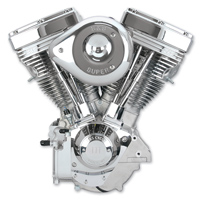 S&S Cycle V111 V Series Complete Engine Natural