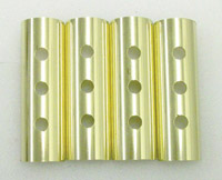 'Old-Stf' 3-Hole Brass Pushrod Tube Clips