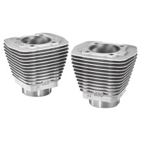 S&S Cycle Natural Stock Bore Cylinder Set
