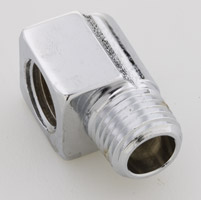 Gardner Westcott Chrome Crankcase Breather Fitting