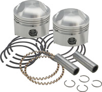 S&S Cycle Forged Stock Bore Stroker Pistons