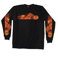 Hot Leathers Hell Bike Long-Sleeve T-Shirt