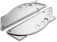 Battistinis Chrome B2 Saddlebag Latch Covers