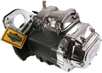 Rivera Primo Wrinkle Black Powerdrive 6-Speed Transmission