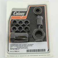 Colony Sidebar and Support Rod Mount Kit