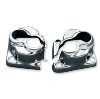 J&P Cycles® Chrome Tappet Block Cover Set