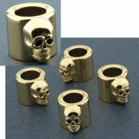 Skull Pushrod Cover Spring Cups