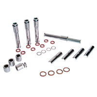 J&P Cycles® Chrome Pushrod Cover Kit